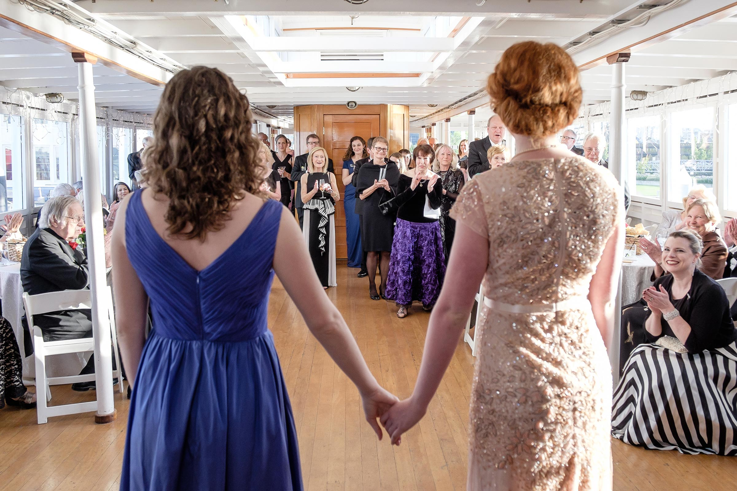 Seattle Opera Gala Sabrina Husseini & Hallie Schmidt