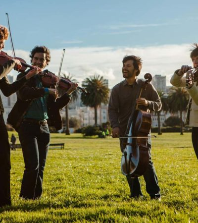 Cornish Presents: Friction Quartet, April 21