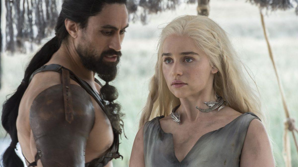 Khal Moro and Danaerys Targaryen