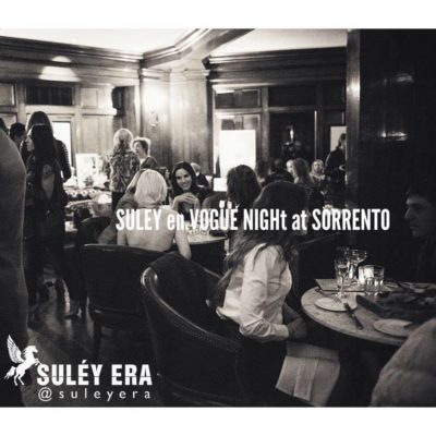 Suléy en Vogue Night at the Sorrento Hotel, May 17