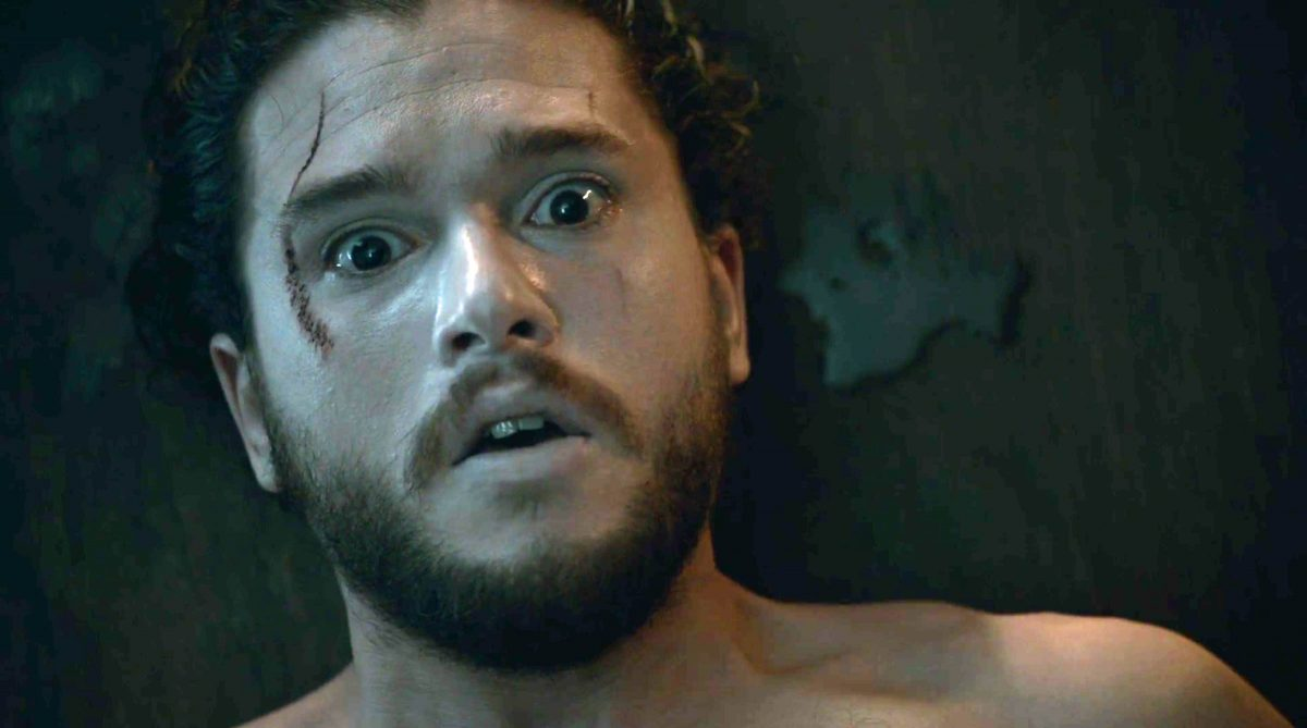 Jon Snow resurrected on Game of Thrones