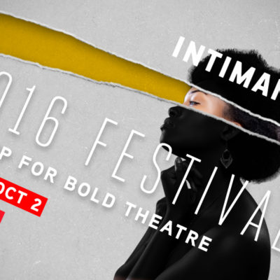 2016 Intiman Theatre Festival, May 24-October 2