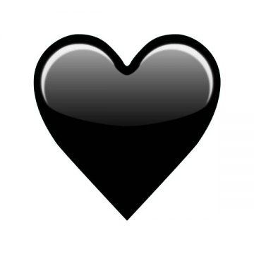 blackheart emoji