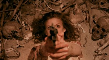 Ashley Bell in Carnage Park.