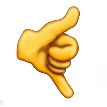 hang ten emoji