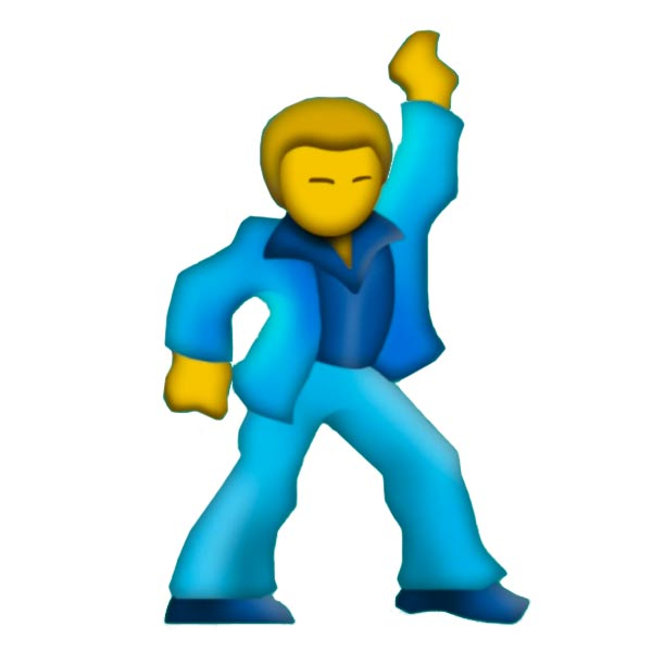 Dancing whatsapp emoticon