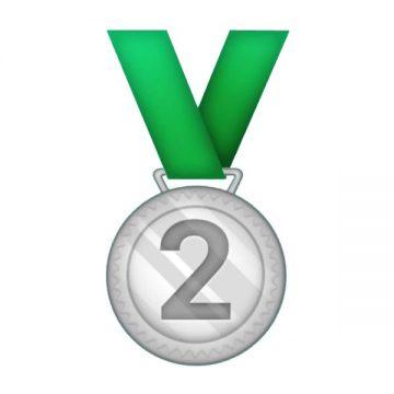Silver medal emoji