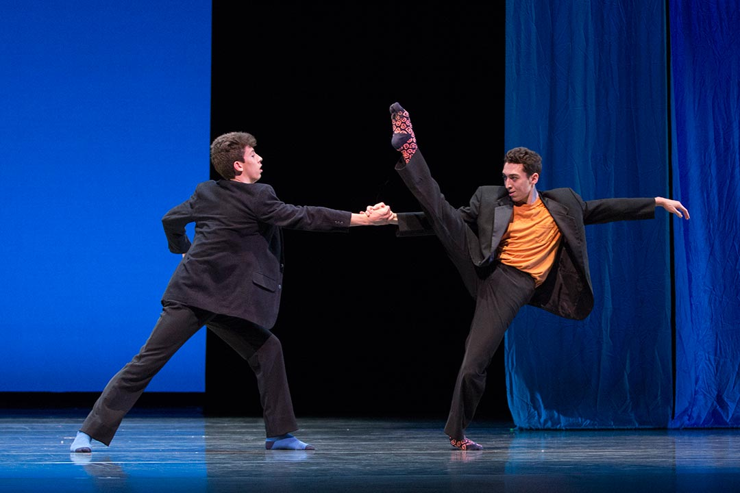 From Miles Pertl's Present Company at PNB's next Step Showcase 2016. Photo © Lindsay Thomas.