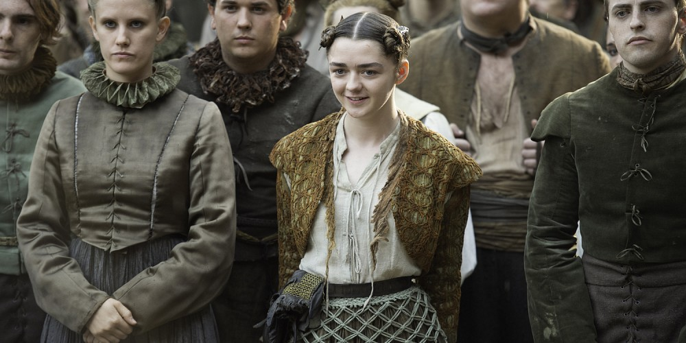 Arya Stark in Game of Thrones Blood of my Blood