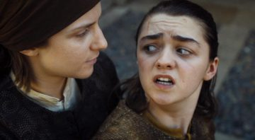 Arya gets stabbed by The Waif in Game of Thrones