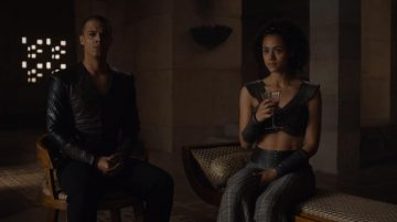Grey Worm and Misandei in Game of Thrones, No One.