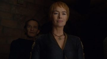 Cersei Lannister and Qyburn in Game of Thrones, No One.