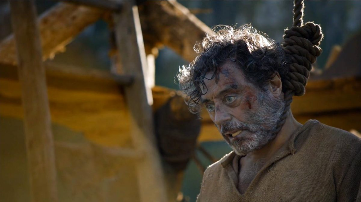 "Ray hangs in Game of Thrones ""The Broken Man"""