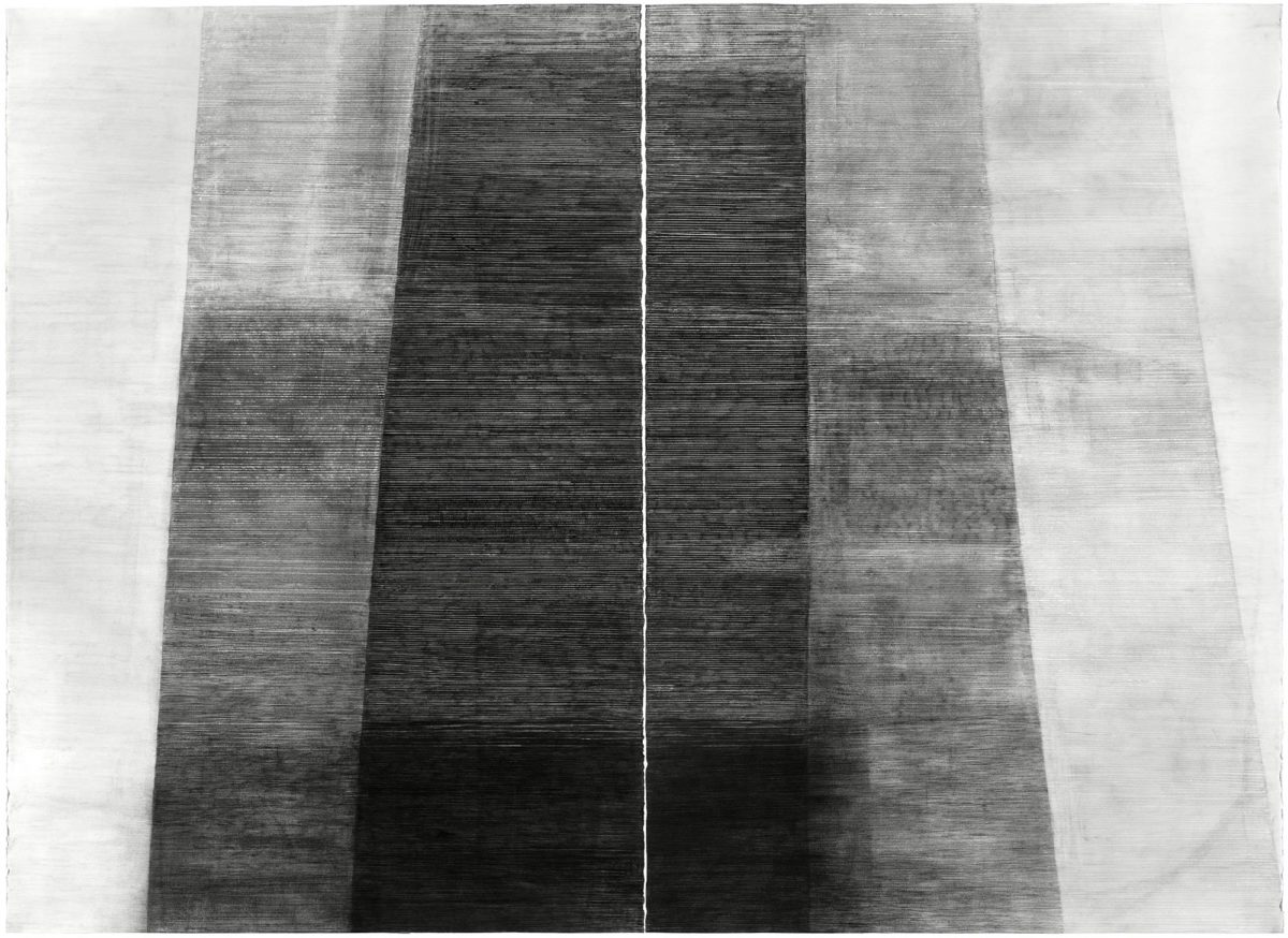Emily Gherard untitled drawing in grey