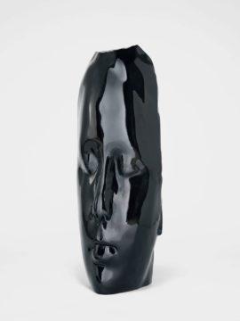 Jaume Plensa duna black head at seattle art fair 2016
