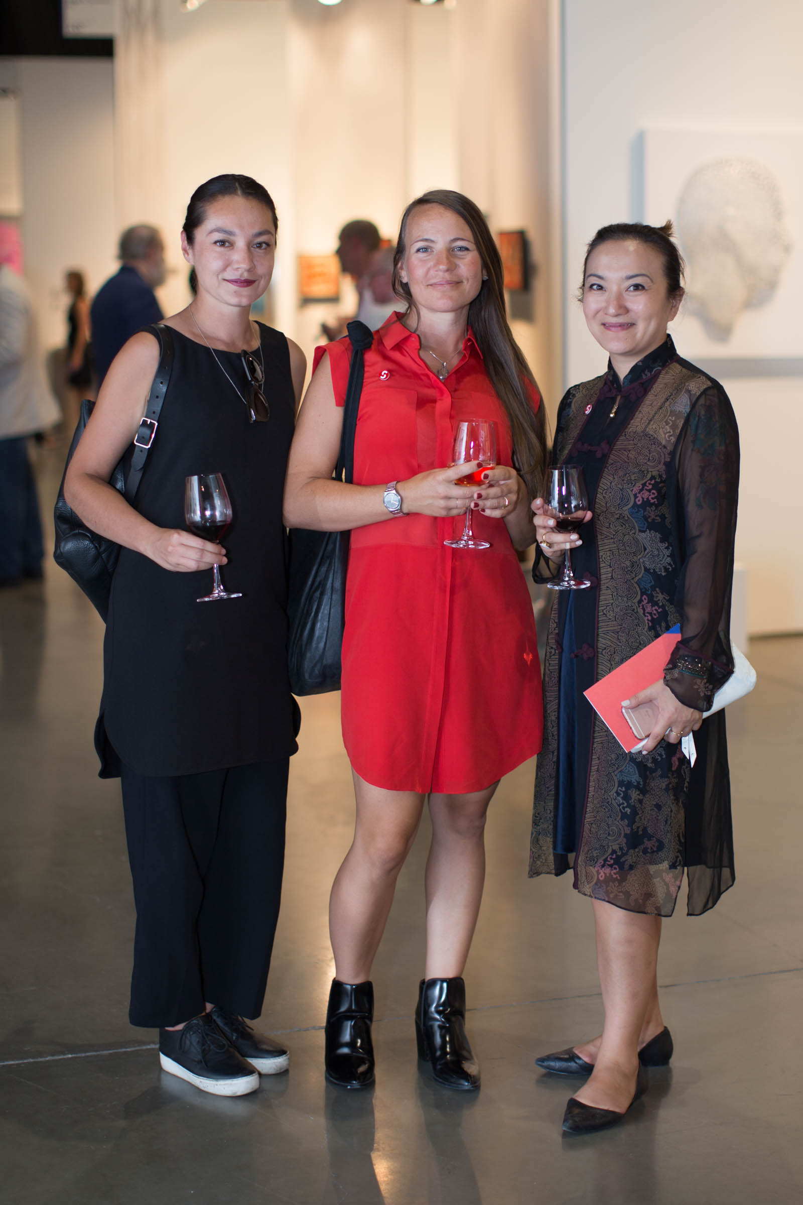 Seattle Art Fair 2016 Opening Night