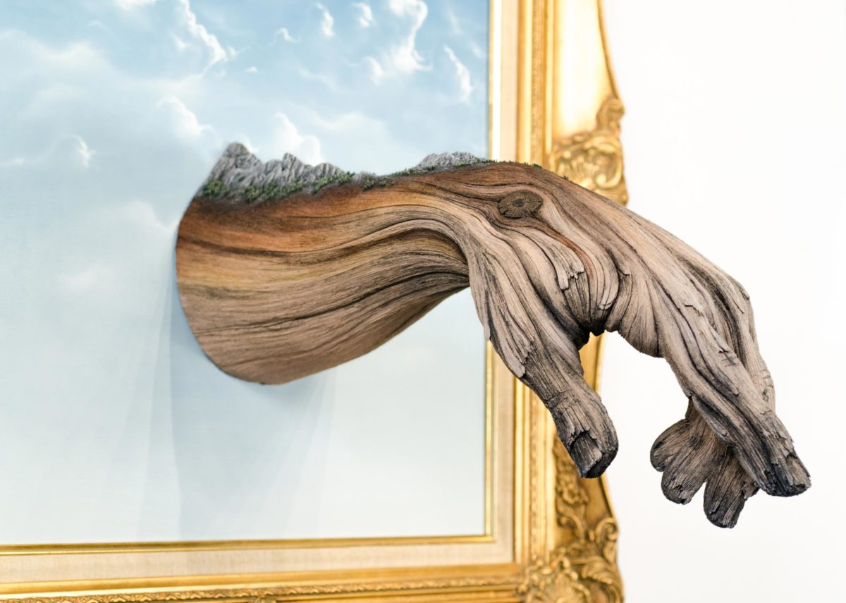 "Detail of ""Within Arm's Reach"" by Christopher David White. Image courtesy of Abmeyer + Wood."
