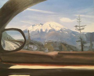 Laura Hamje oil painting Passenger