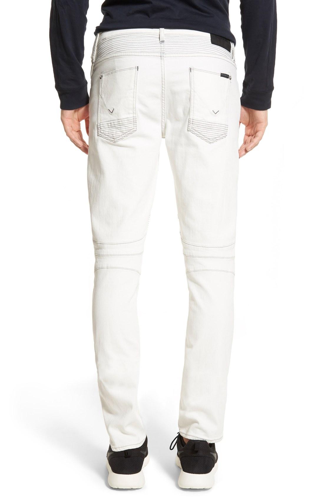 Hudson-Blender-Skinny-Fit-Moto-Jeans-Peroxide-2