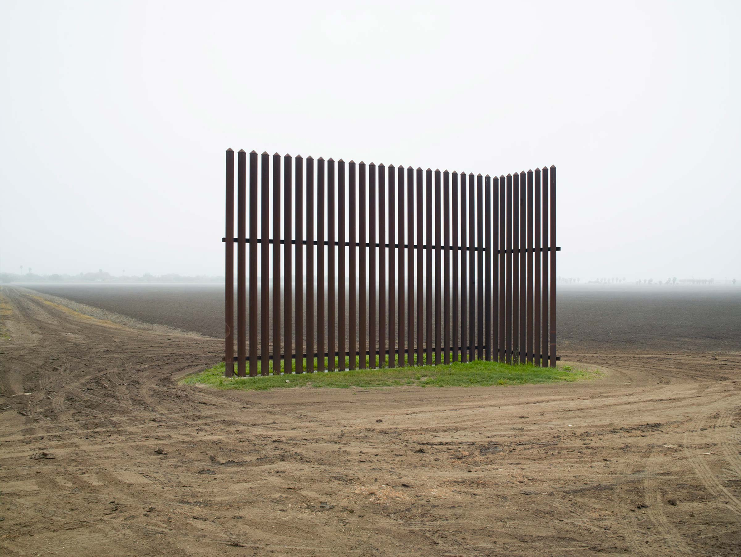Wall near Texas border by Richard Misrach