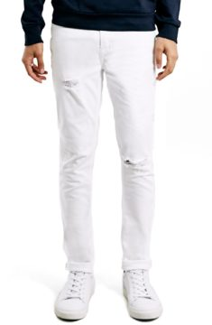 Topman 'Ripped Stretch Skinny Fit Jeans' available at Nordstrom.