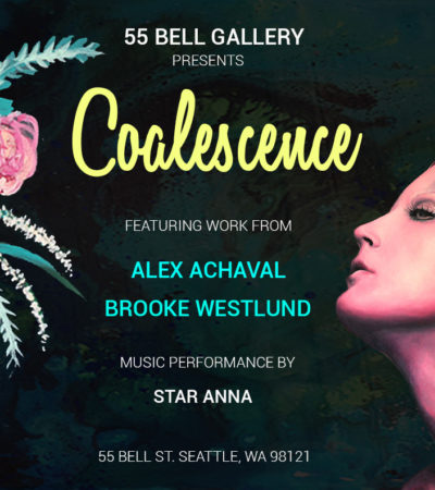 Coalescence Art Show at 55 Bell Gallery, August 12