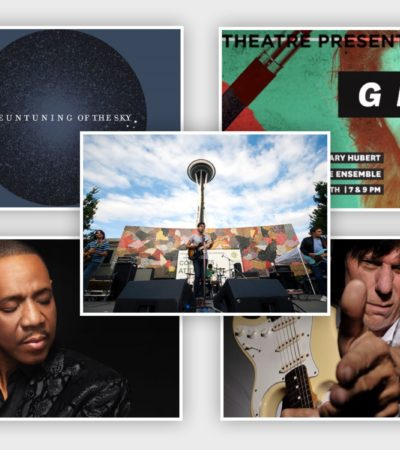 Get Out, Seattle! Arts and Cultural Events, Week of August 15