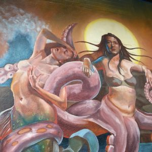 Seattle Muralist Crystal Barbre Alters Her Work to Skirt Obscenity Laws