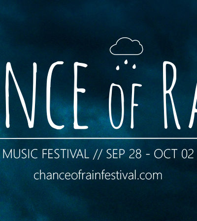 Chance of Rain: Urban Arts and Music Festival 2016, Sep 28-Oct 2