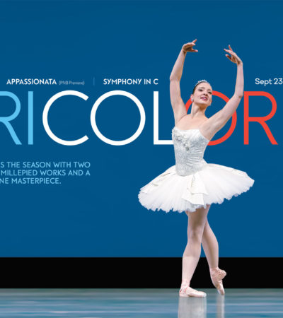 Pacific Northwest Ballet Presents: Tricolore, September 23-October 2