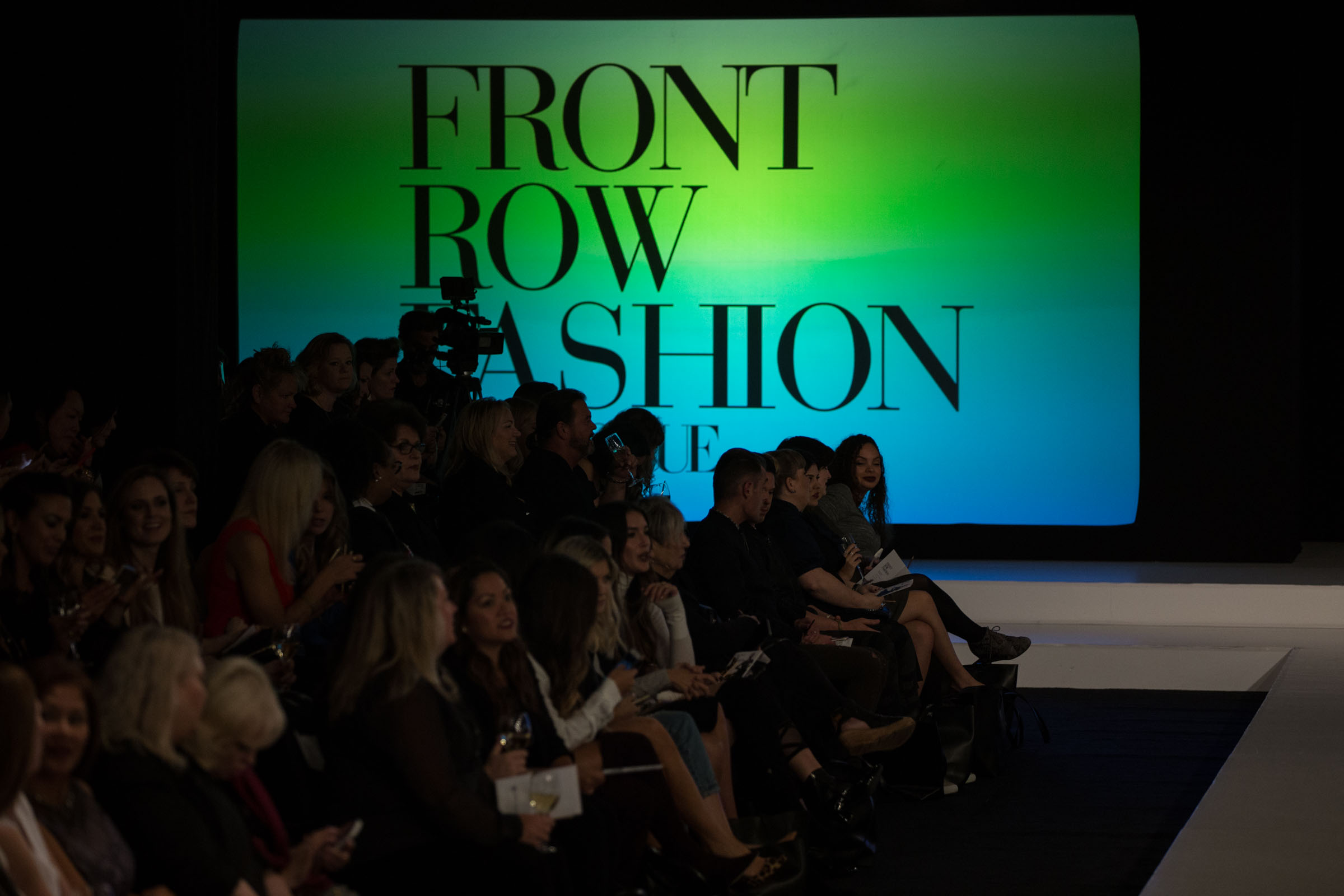 Front Row Fashion sponsored by Vogue at Bellevue Fashion Week 2016