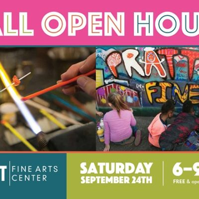 Pratt Fine Arts Center Fall Open House, September 24