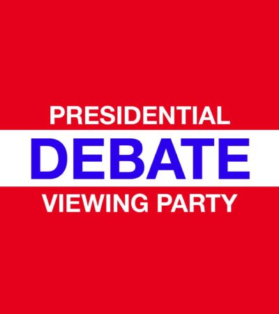 A Few Good Presidential Debate Viewing Parties, October 19