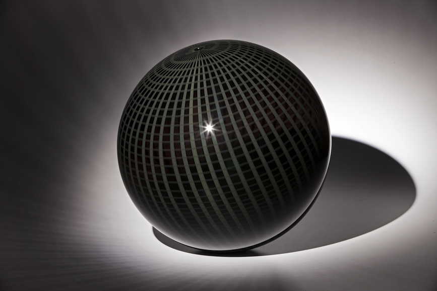 """Dark Matter Orb"" by Nancy Callan. Image courtesy of Traver Gallery."