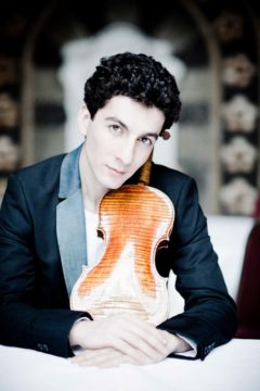 Sergey Khachatryan. Image courtesy of Seattle Symphony.