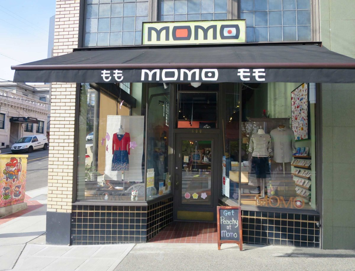Seattle boutique Momo in the International District. Photo by Thomas Klefeigem, courtesy of Momo Seattle.