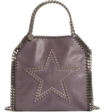 Exclusive Mini Falabella Studded Star Tote