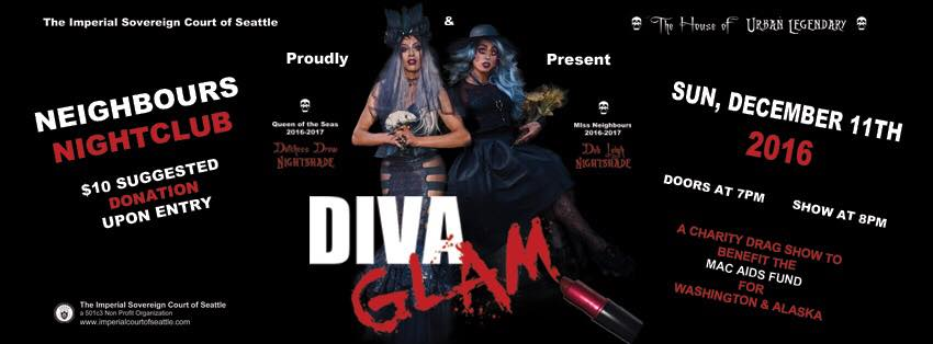 DIVA GLAM: Party to Support the MAC AIDS Fund, December 11