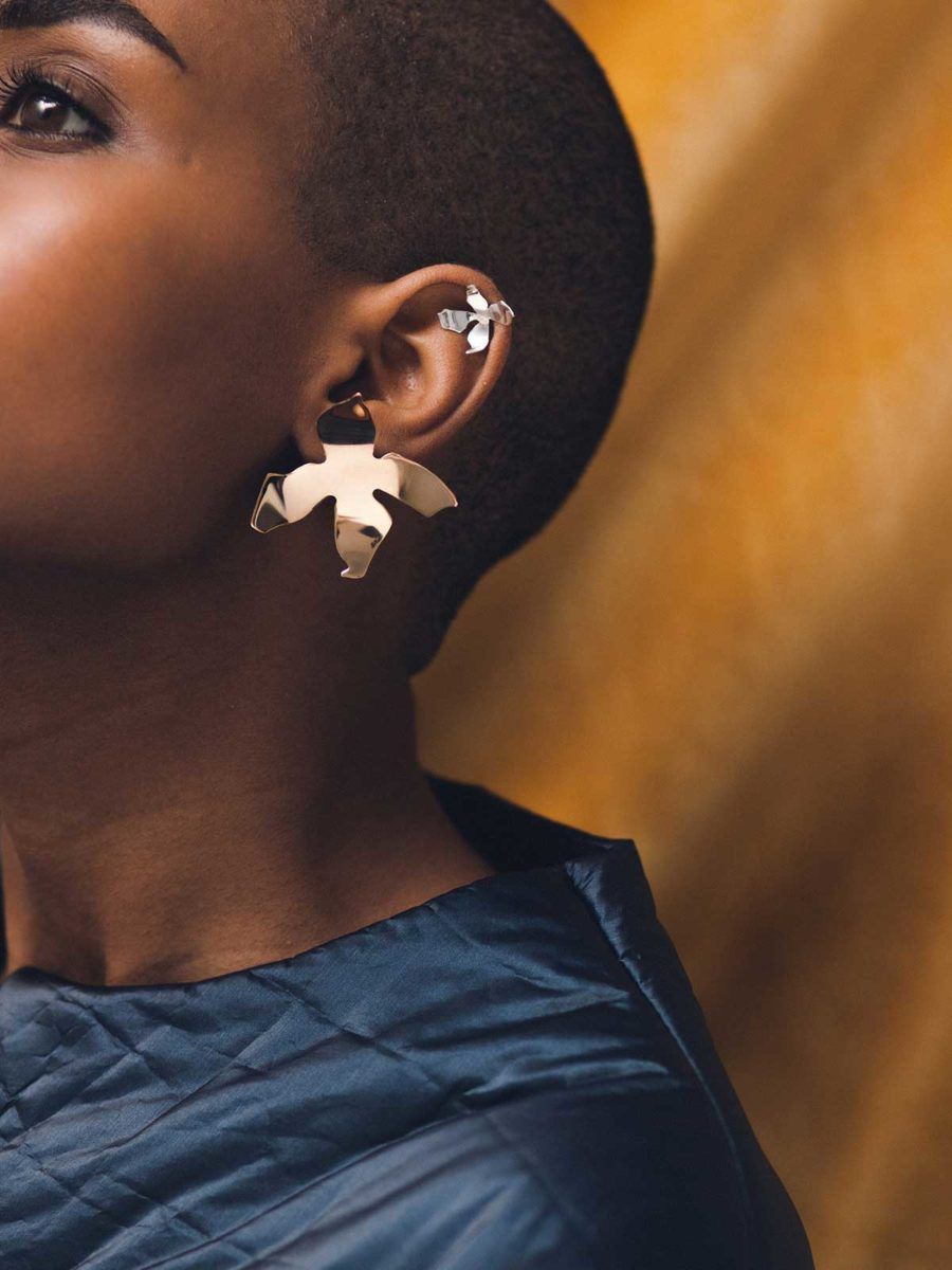 Ladyday Earrings by Faris du Graf. Image courtesy of FARIS.