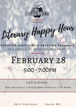 Capitol Cider Literary Happy Hour