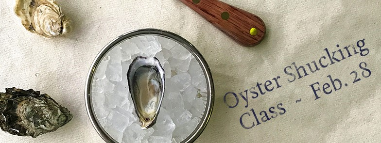 Oyster Shucking Class at Westward