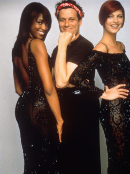 Unzipped, with Naomi Campbell,Isaac Mizrahi and Linda Evangelista