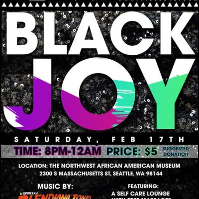 Black Joy Party at Northwest African American Museum