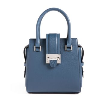 Kacy Yom bag in blue.