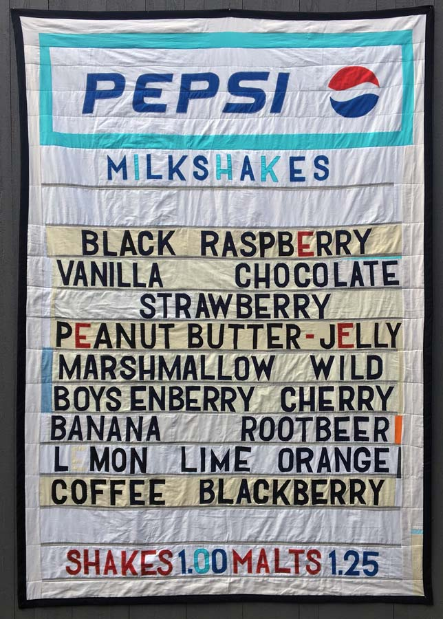 """Twin Pines (The Milkshake Quilt)"" by Joey Veltkamp"