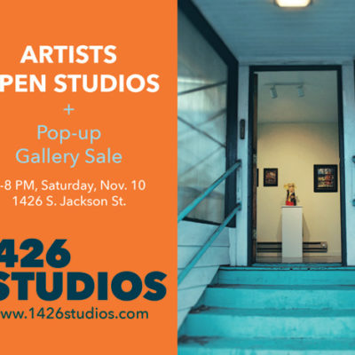 Bi-Annual Open House at 1426 Studios