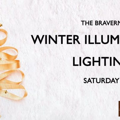 Sparkle & Shine: The Bravern Winter Illumination Lighting Party, November 24