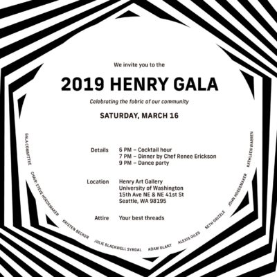 The Henry Gallery's Spun and Twisted: 2019 Dance Party