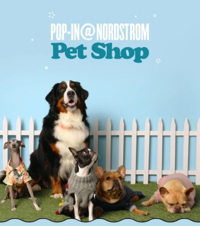 Dogville Launch and Pop-In@Nordstrom Pet Shop Opens February 28
